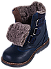 Ортопедичні зимові черевики для хлопчика 06-758 р-н. 31-36, фото 8