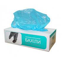 Бахіли поліетиленові у картонній коробці