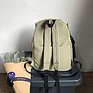 Рюкзаки для подростков водоотталкивающие цвета хаки HOCODO., фото 3