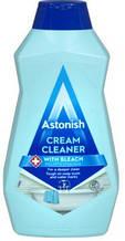 Паста для мытья поверхностей на кухне и в ванной с отбеливателем Astonish Cream Cleaner Bleach 500 мл.
