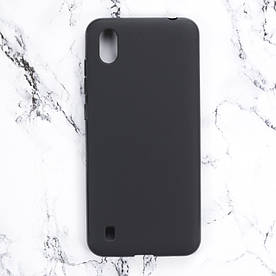 Чехол для ZTE Blade A7 2019 силиконовый бампер матовый (ЗТЕ Блейд А7 2019), Черный