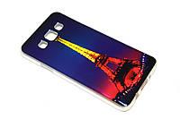 TPU чехол хамелеон для Samsung Galaxy A3 Башня, фото 1
