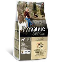 Сухий корм Pronature Holistic Adult з білою рибою і рисом для собак 7+ для літніх собак всіх порід 13.6 кг
