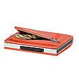 """Женский кожаный бумажник на молнии компактный и многофункциональный """"OGON Cascade"""", фото 3"""