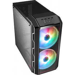 Корпус CoolerMaster MasterCase H500 Iron Grey без БП (MCM-H500-IGNN-S01), фото 2