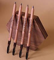 Карандаш для бровей EKKOBEAUTY Light brown, фото 2