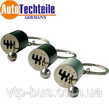 Брелок Gear, колір в асортименті (срібло / коричневий / чорний) Autotechteile (Німеччина) ціна за 1шт.