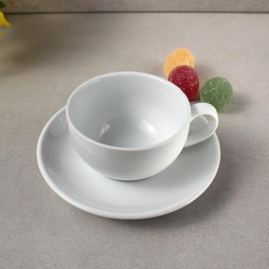 Набір для капучино HLS Чашка 200 мл + блюдце (HR1310)