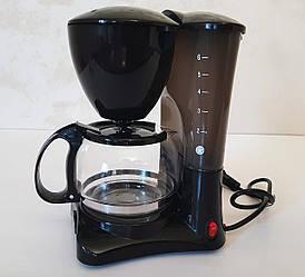 Кофеварка, электрическая Crownberg CB 1563, с чашей и мерной ложкой 800W
