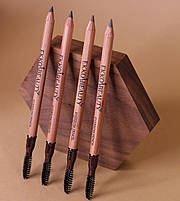 Олівець для брів EKKOBEAUTY Medium brown, фото 2