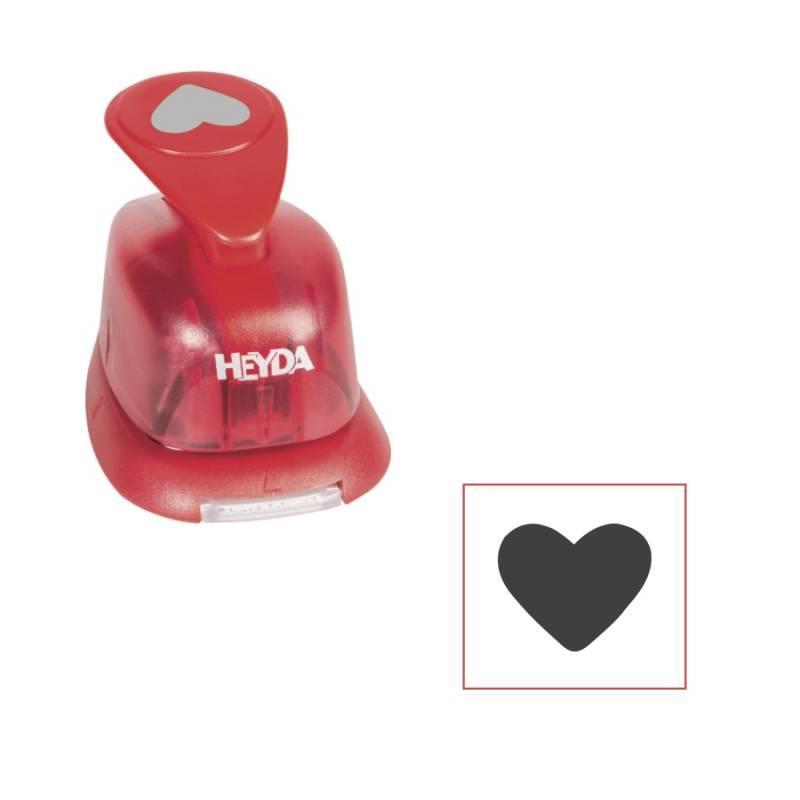 Фігурний дирокол Серце 1.6 см Heyda