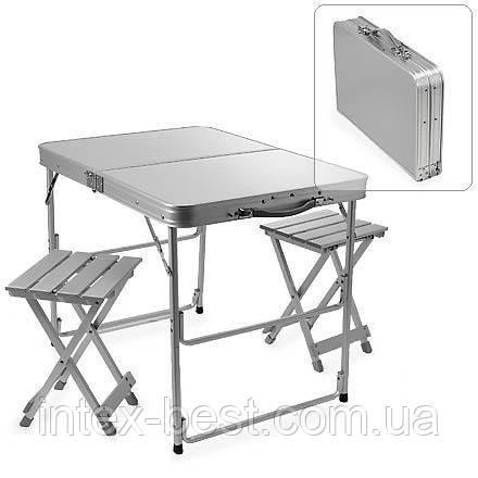 Комплект мебели для пикника  Стол+2 стульчика TA-200, фото 2