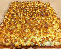 Пирог сдобный дрожжевой