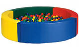 Сухой бассейн круглый 200х40 см, фото 2