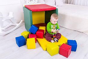 Мат Будиночок з Кубиками