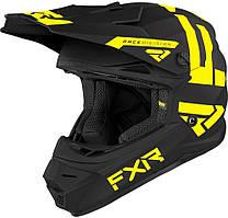 Мотошлем детский FXR Youth Legion 21-Hi Vis-S
