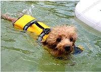 Спасательный жилет для собак желтый