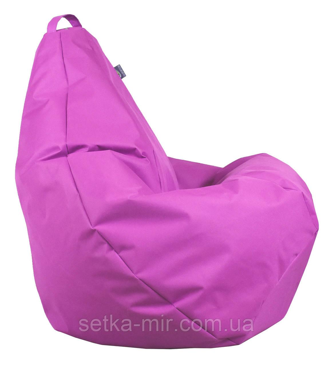 Крісло груша Оксфорд Світло-рожевий