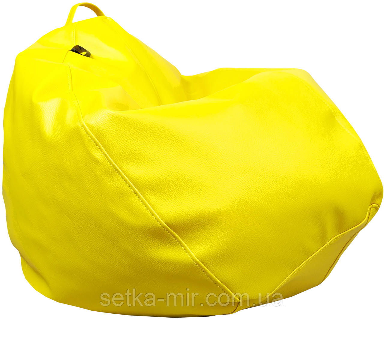 Крісло груша Практик Жовтий