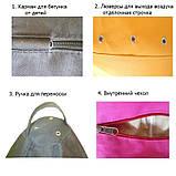 Кресло мешок Ежик Смешарики, фото 3