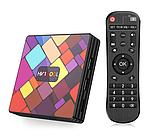 Смарт приставка медіаплеєр тюнер TV Box HK1 COOL 4 / 32 Гб Android, фото 5
