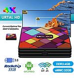 Смарт приставка медіаплеєр тюнер TV Box HK1 COOL 4 / 32 Гб Android, фото 9