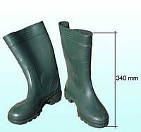 Сапоги резиновые высокие 34см
