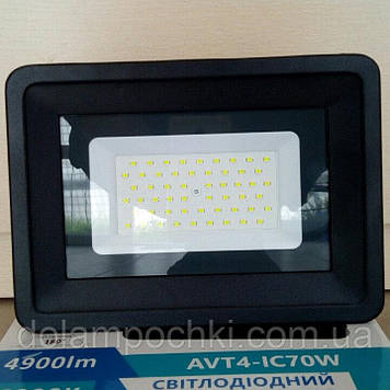 Прожектор AVT  6000k ip65 70
