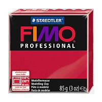 Пластика Professional Кармінова 85г Fimo