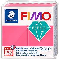 Пластика Fimo Effect 57г красная полупрозрачная (4006608810122)