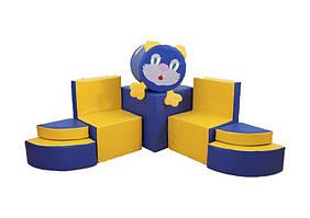 Комплект ігрових меблів Котик