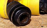 Вал карданный (кардан) с обгонной муфтой (муфта свободного хода) 6х6, 6х8 шлицов
