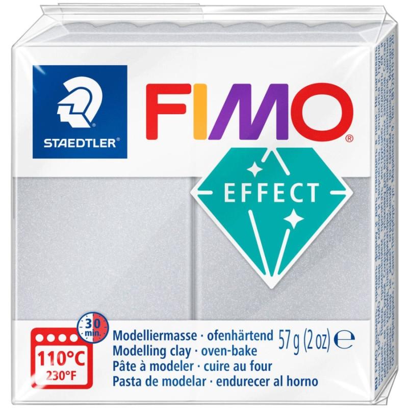 Пластика Effect Срібна перлинка 57г Fimo