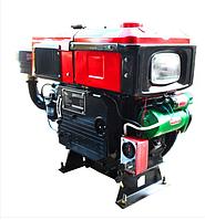 Двигун дизельний (16 кс / 11,70 кВт) ДД1100ВЕ (з радіатором)