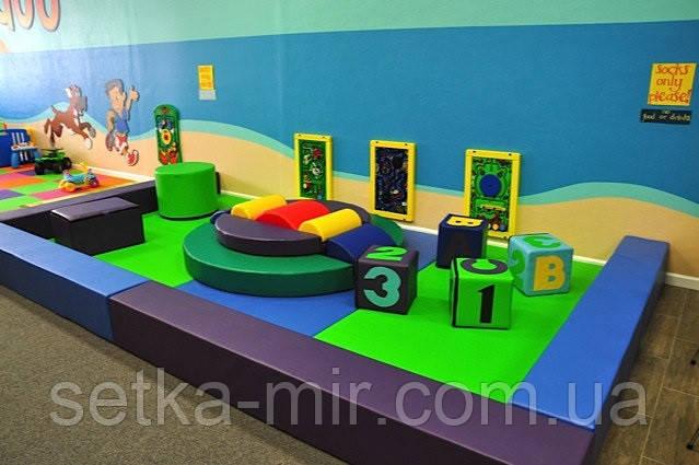 Мягкая детская игровая зона до 50 кв.м