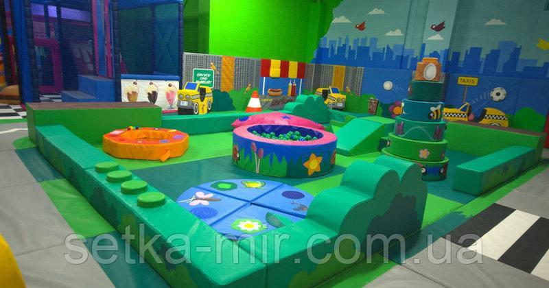 Детская игровая зона 100 кв.м