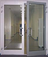 Двери из анодированного алюминия