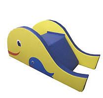 Модуль горка-ступеньки Рыбка