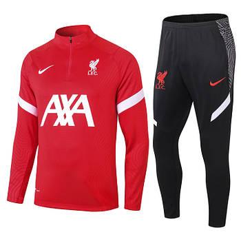 Тренировочный костюм FC Ливерпуль Nike 2020/21 red