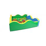 Сухой бассейн квадратный Волна 200х60 см, фото 2