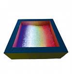 Сухой бассейн с подсветкой квадратный 200х60х20 см, фото 2