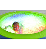 Сухой бассейн с подсветкой круглый 150х40 см, фото 3