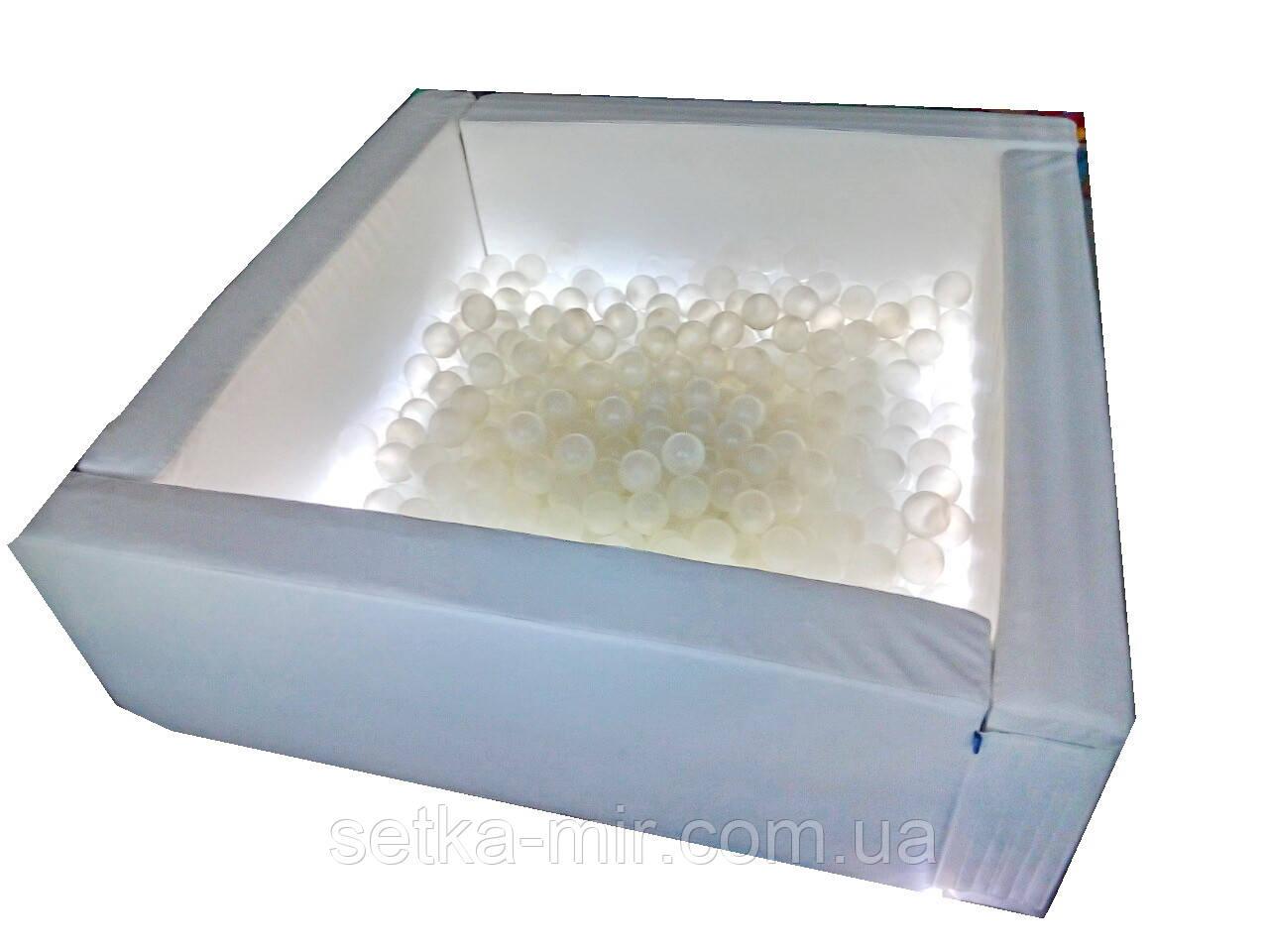 Сухий басейн Світлотерапія квадратний 150х40 см