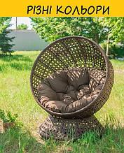 Кресло из ротанга, крутящееся кресло Верона. Цвет можно изменять. Мебель из ротанга.