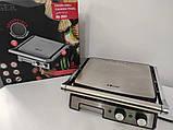 Электрический гриль пресс Haeger 2800W прижимной с таймером, фото 5