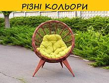 Кресло из ротанга Манго. Цвет можно изменять. Мебель из ротанга.