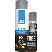 Набор смазок System JO H2O - Original (120 мл)  + Gelato - White Chocolate Raspberry (30 мл) код