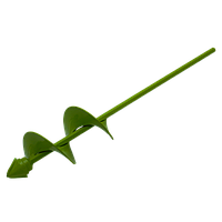 Насадка бур для дрели А-105 d-80, длина шнека - 180, L - 410