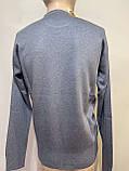 Чоловічий джемпер, чоловічий светр, пуловер Туреччина джинсовий, фото 4