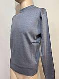 Чоловічий джемпер, чоловічий светр, пуловер Туреччина джинсовий, фото 2